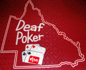 deaf poker qld logo